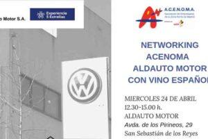 Networking-acenoma-aldautomotor-con-vino-espanol