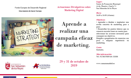 Aprende a realizar una campaña eficaz de marketing