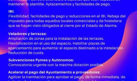 El Ayuntamiento flexibiliza el pago de los tributos municipales como solicitó ACENOMA