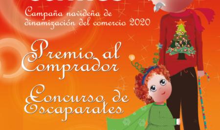Esta Navidad, cuatro premios de 500 euros al comprador en los comercios locales y 'parking' gratis para hacer las compras.