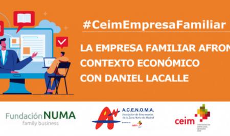 """Jornada: """"La empresa familiar en el 2021: Contexto Económico con Daniel Lacalle"""""""