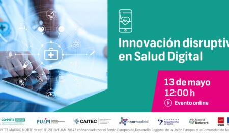 13Mayo-Innovación disruptiva en Salud Digital